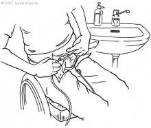 Ellerini kullanabilen hastaların TAK uygulaması çok kolaydır.