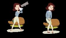 Stress inkontinans ( karın içi basıncını artıran eylemler nedeniyle idrar kaçırma)
